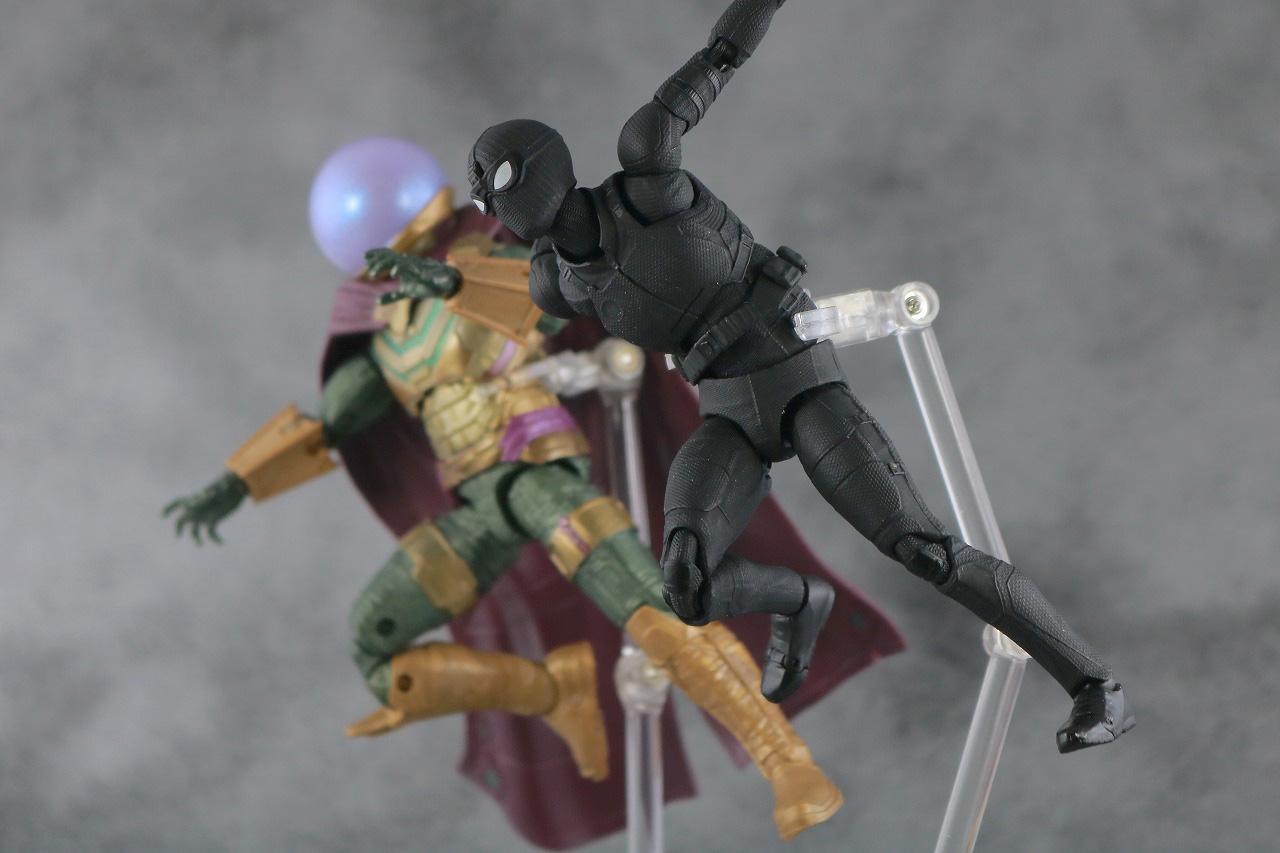 MAFEX スパイダーマン ステルス・スーツ レビュー アクション マーベルレジェンド ミステリオ