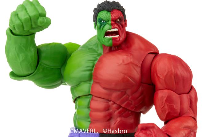 マーベルレジェンド新作!コンパウンド・ハルクが21年11月に発売!緑と赤のハーフボディを再現!