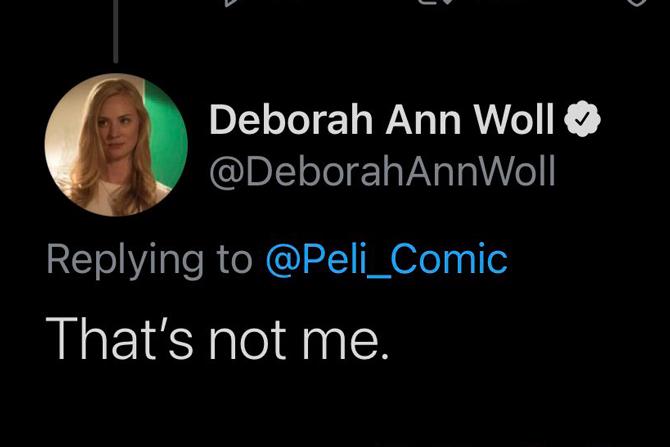 デボラ・アン・ウォール、キルスティン・ダンストとの写真を「自分じゃない」と否定 ー 『スパイダーマンNWH』出演もなし?