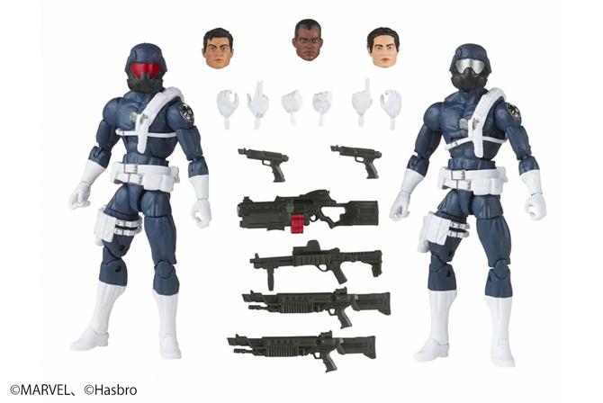 マーベルレジェンド新作!S.H.I.E.L.Dトルーパー2パックセットが発売!武器も豊富に付属!