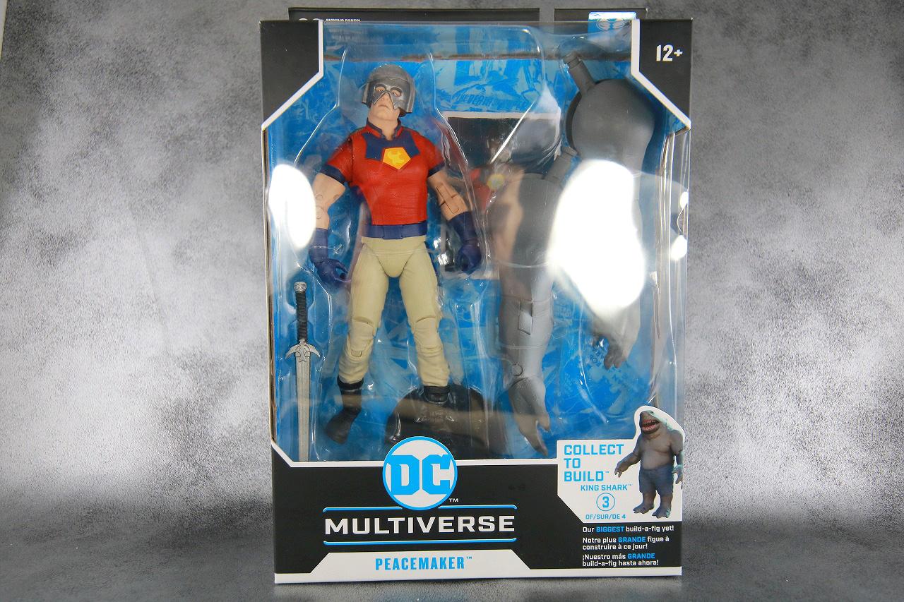 DCマルチバース ピースメイカー レビュー パッケージ