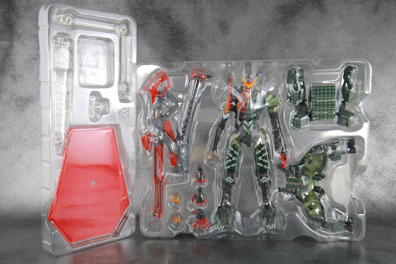 ROBOT魂 エヴァンゲリオン 新2号機α レビュー パッケージ