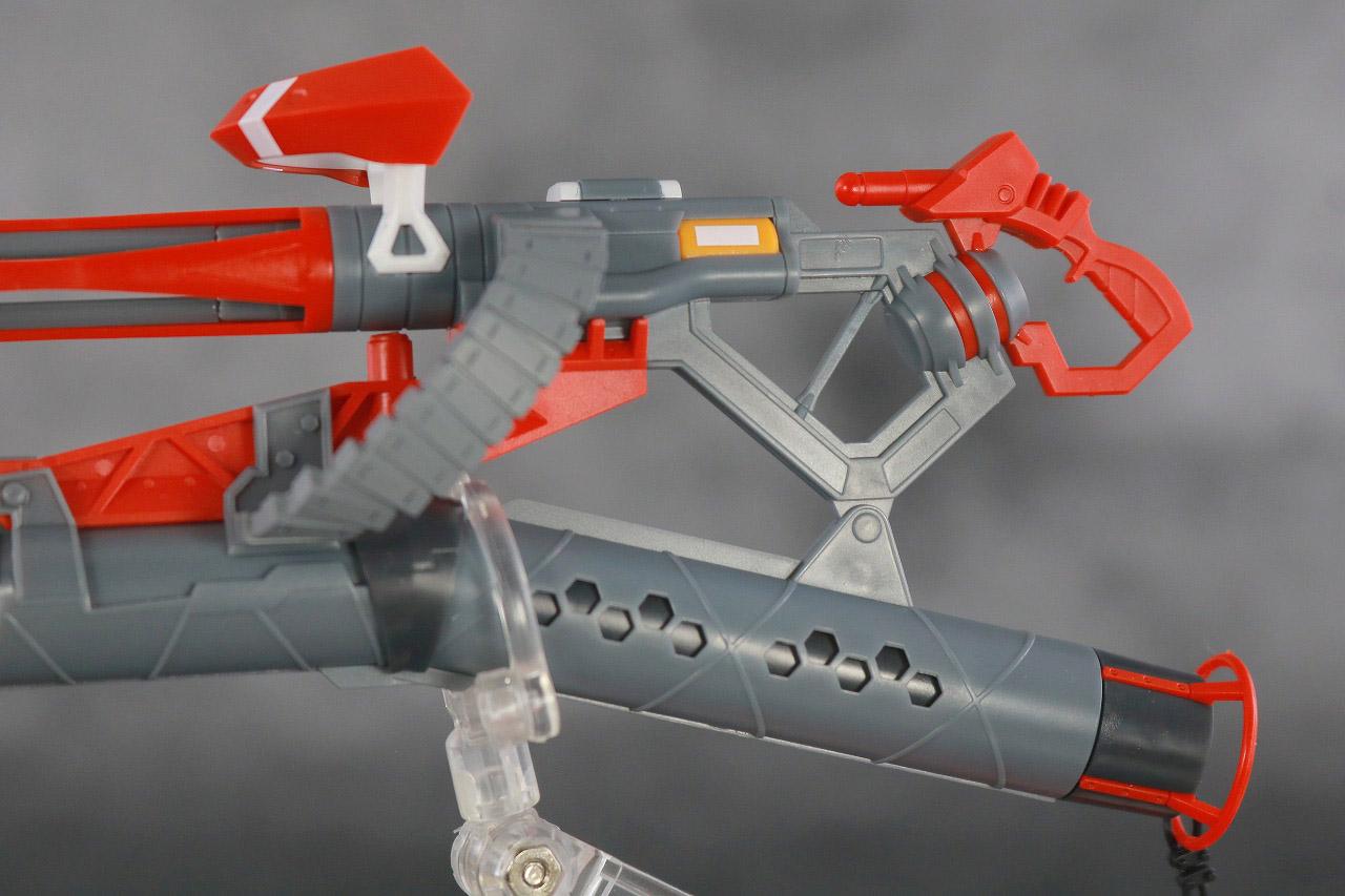 ROBOT魂 エヴァンゲリオン 新2号機α レビュー 付属品 重火器