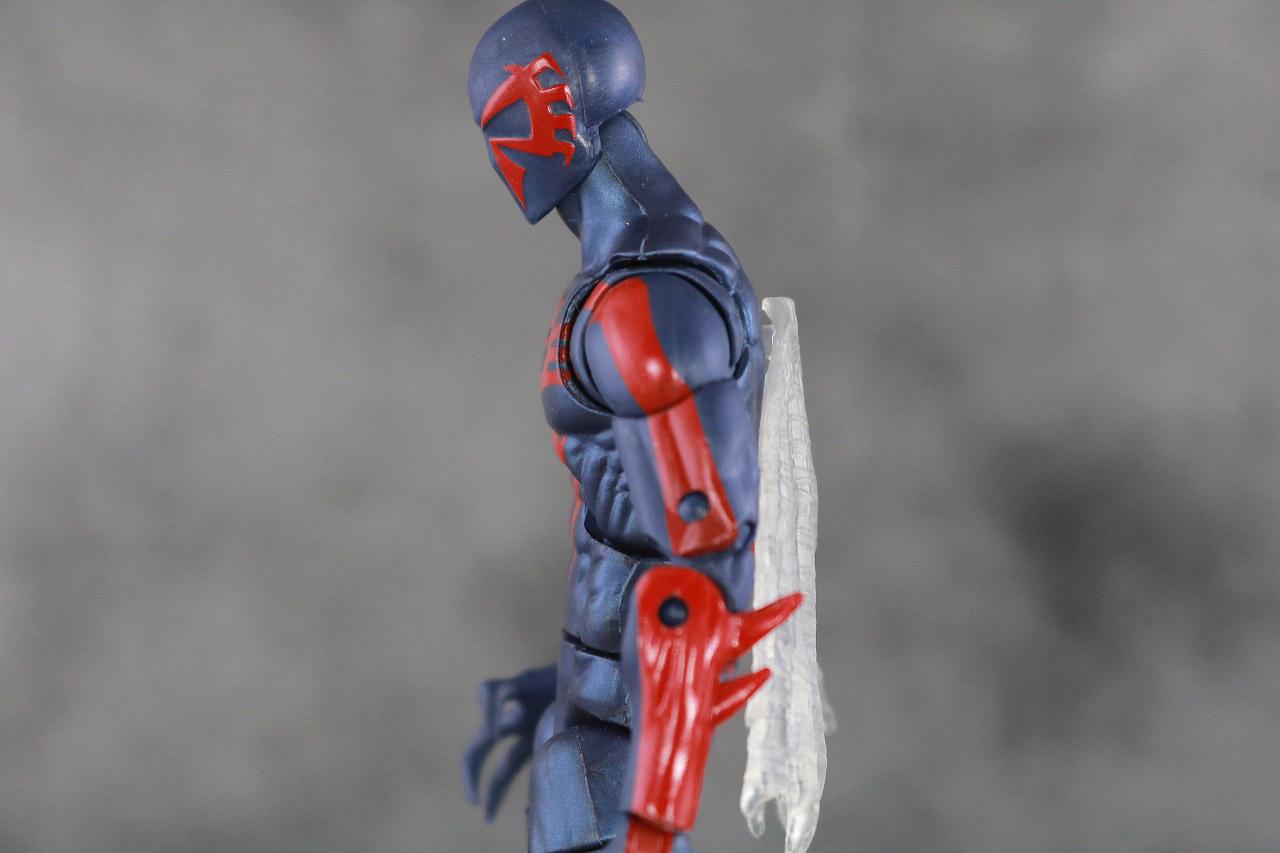 マーベルレジェンド スパイダーマン2099 レトロパッケージ レビュー 可動範囲