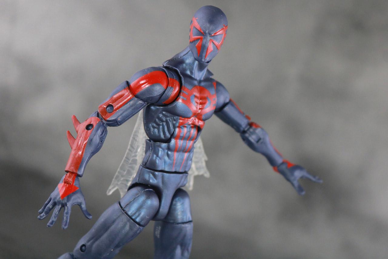 マーベルレジェンド スパイダーマン2099 レトロパッケージ レビュー アクション
