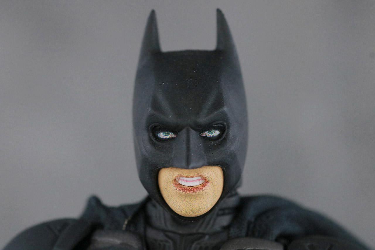 MAFEX バットマン Ver.3.0 レビュー 付属品 食いしばりヘッド
