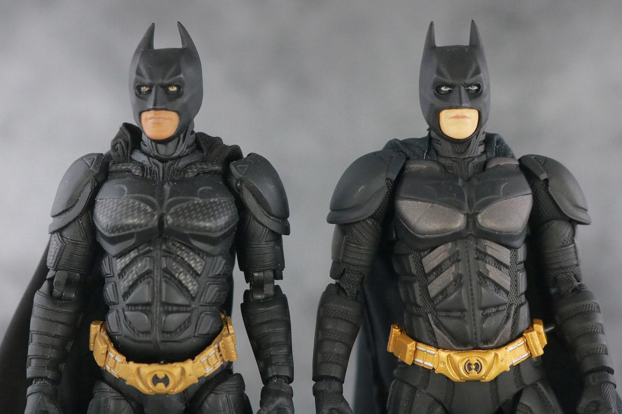 MAFEX バットマン Ver.3.0 レビュー 本体 Ver.2.0 比較