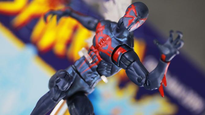 【ミゲルくん】マーベルレジェンド スパイダーマン2099をレビュー!
