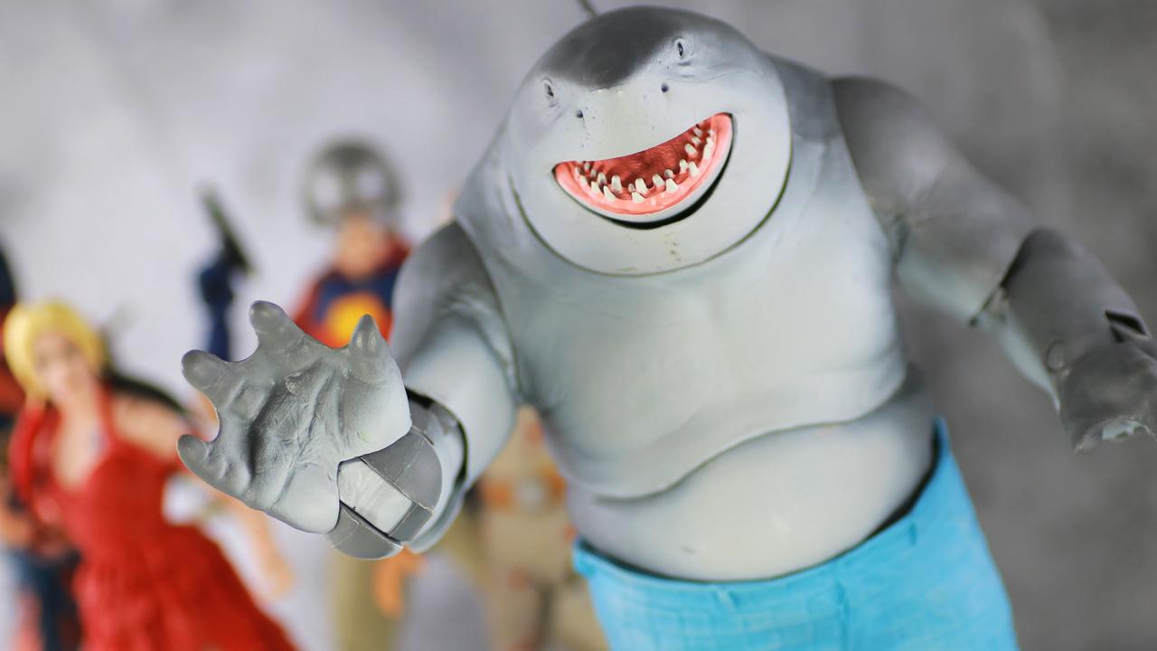 【ゆるサメ】DCマルチバース キングシャーク(ビルドフィギュア)をレビュー!
