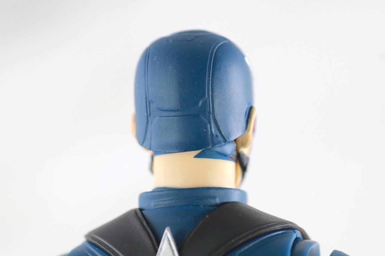 S.H.フィギュアーツ キャプテンアメリカ ジョン・ウォーカー レビュー 付属品 マスクヘッド