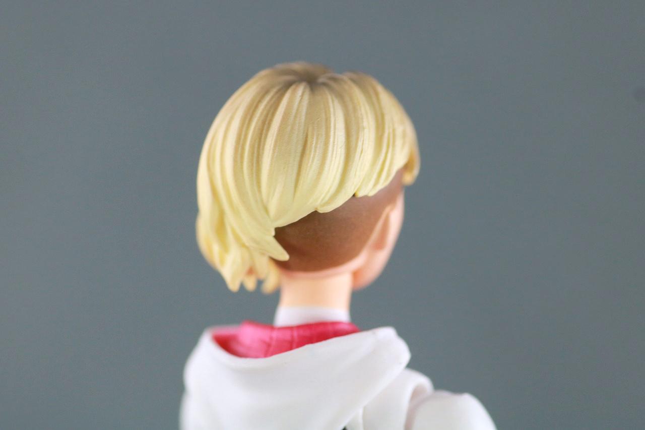 MAFEX スパイダーグウェン レビュー 付属品 グウェン・ステイシー 素顔ヘッド