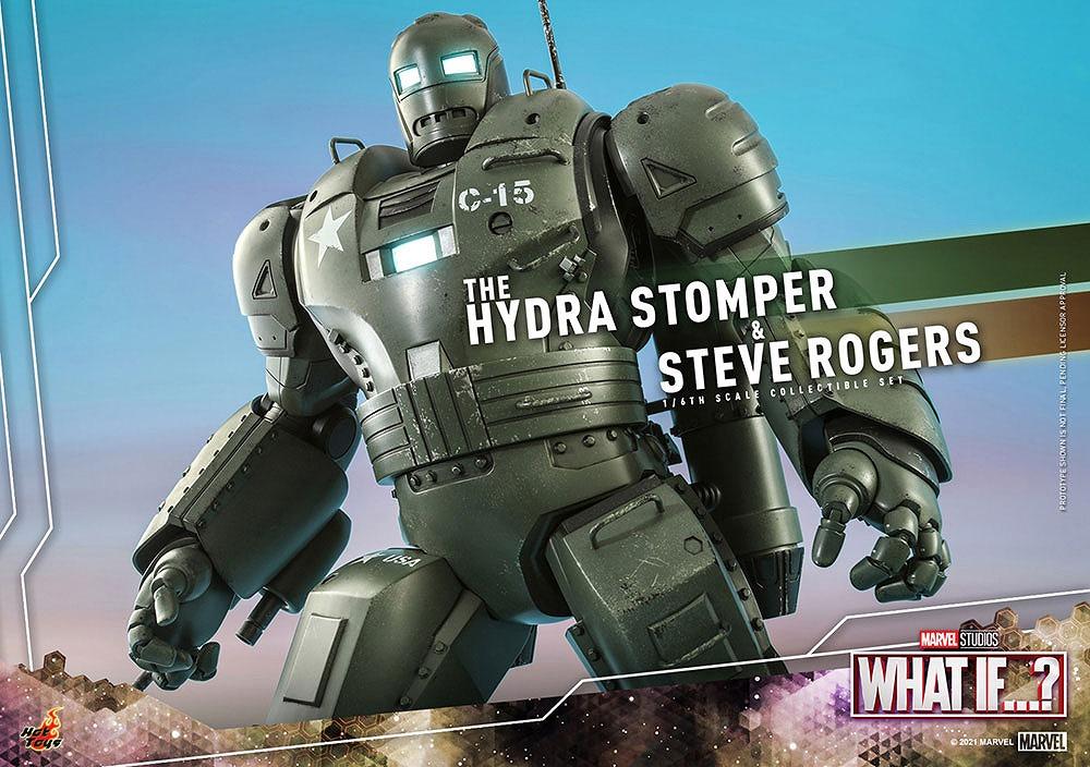 ホットトイズ テレビ・マスターピース ヒドラ・ストンパー&スティーブ・ロジャース 2体セット