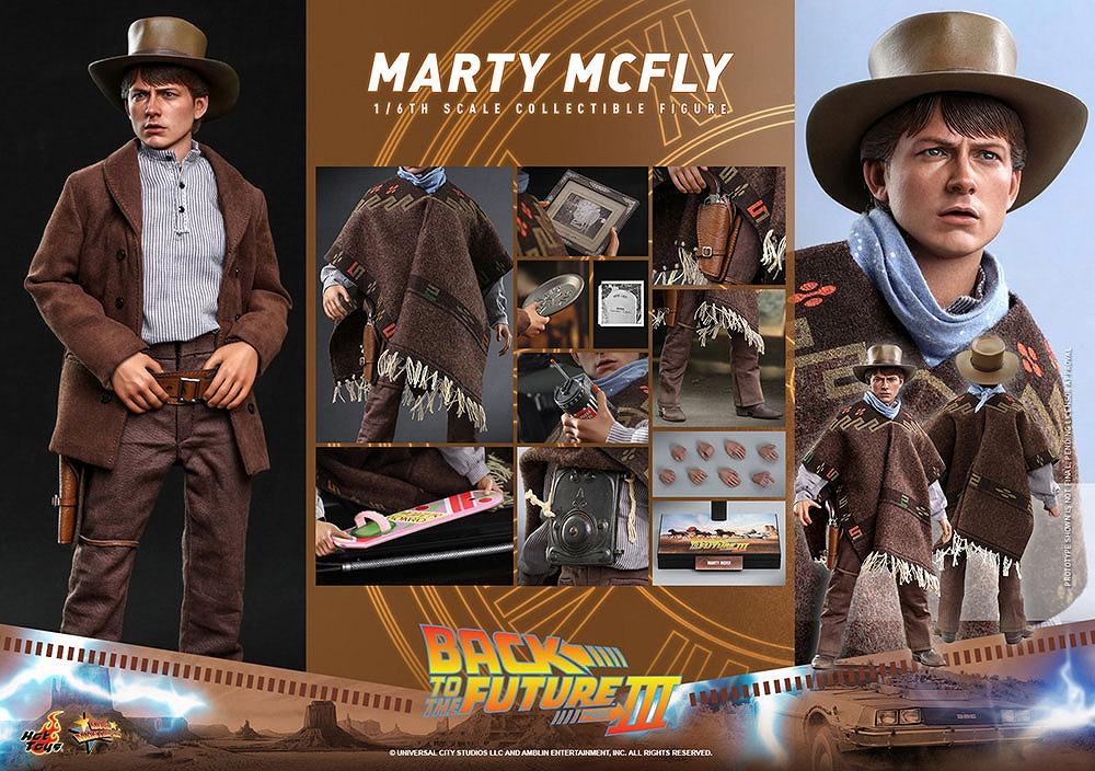 ホットトイズ ムービー・マスターピース マーティ・マクフライ(『バック・トゥ・ザ・フューチャー PART3』)