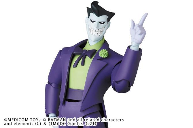 MAFEX新作!アニメ版ジョーカーが2022年7月に発売!独自スタイルや小物類も付属!