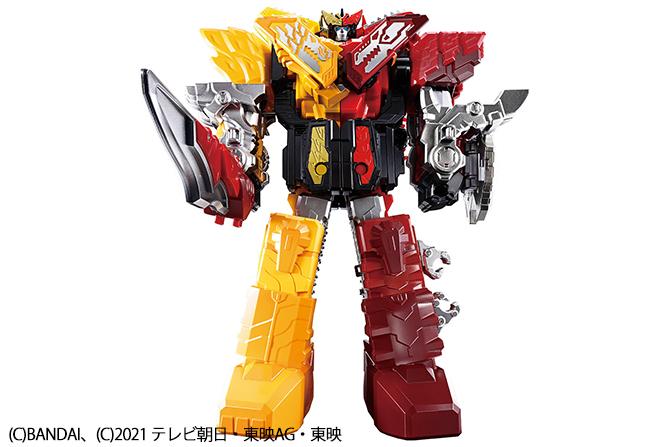 大人向けにリニューアル!「DX METAL APPEND ゼンカイオージュラガオーン」が22年2月に一般販売!