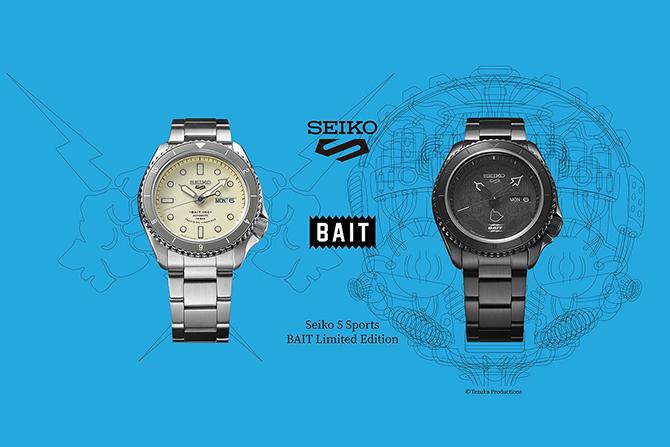 BAITよりセイコーコラボアイテムが登場! ー 『鉄腕アトム』などのデザインも