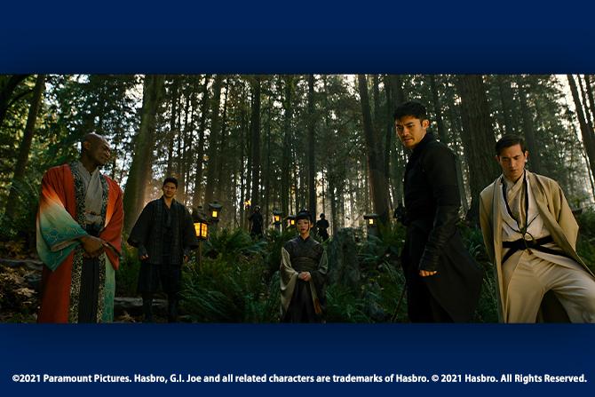 『G.I.ジョー:漆黒のスネークアイズ』本編映像が公開! ー 「忍者大戦」開幕!