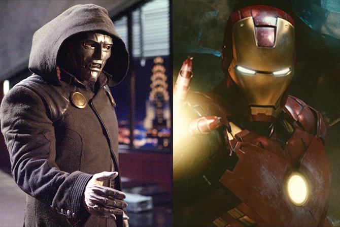ロバート・ダウニーJr.、アイアンマン役の前にドクター・ドゥーム役が検討されていた ー 2005年『F4』映画にて